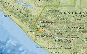 Strong preliminary magnitude 6.9 earthquake strikes near Guatemala-Mexico border