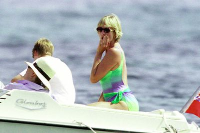 """Long before Kate went topless in France, her late mother-in-law Diana was snapped sunbaking topless in Spain in 1994. She later compared the invasion of privacy to being """"raped""""."""