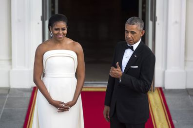 Barack Obama says Michelle would leave him if he ran for office again