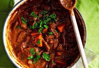 Traditional beef casserole
