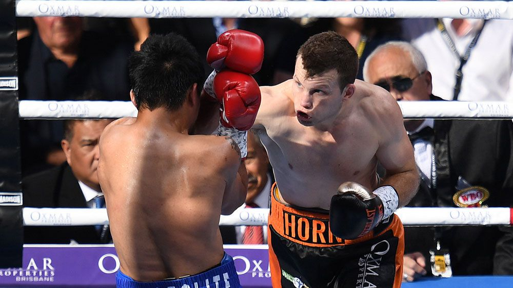 Australia's Jeff Horn beats Manny Pacquiao for WBO welterweight title in Battle of Brisbane