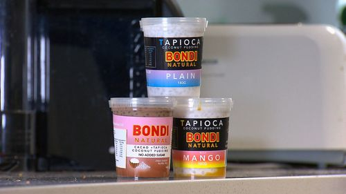 Sweet Bondi's product contained undeclared milk. Picture: 9NEWS