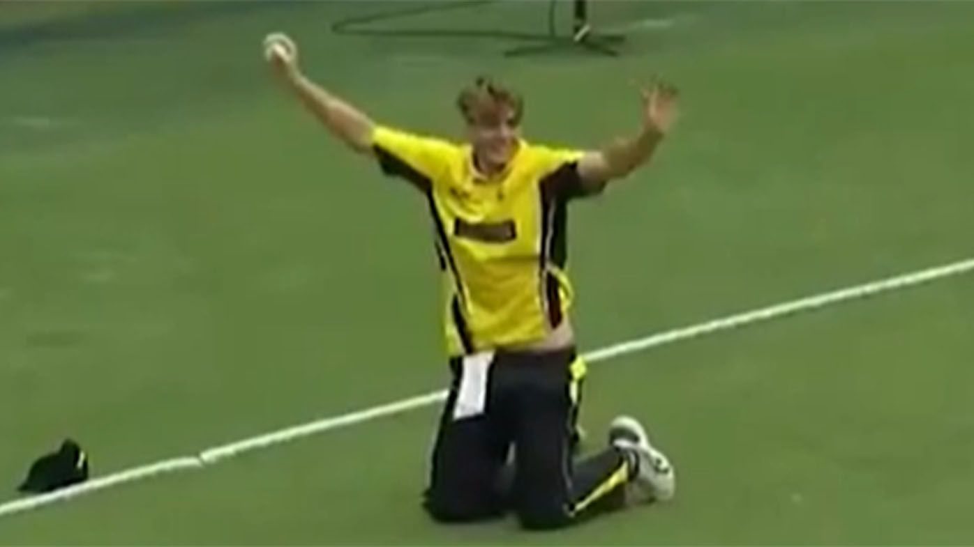 Cameron Green takes a rip-snorter of a catch in one-day cup as ridiculous purple patch rolls on