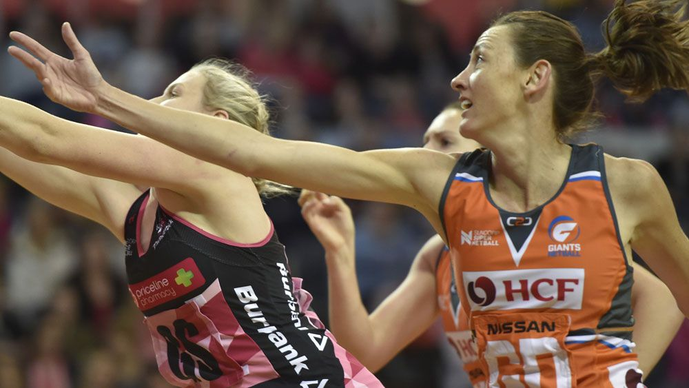 Giants coach Julie Fitzgerald rapt after close Super Netball win over Adelaide Thunderbirds