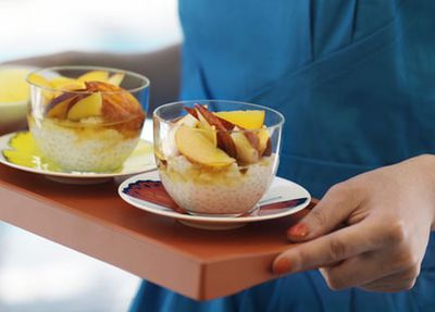 "Click here for our <a href=""http://kitchen.nine.com.au/2016/05/17/13/33/coconut-pearls-with-stonefruit-salad-and-mango-sorbet"" target=""_top"">Coconut pearls with stone-fruit salad and mango sorbet</a>"
