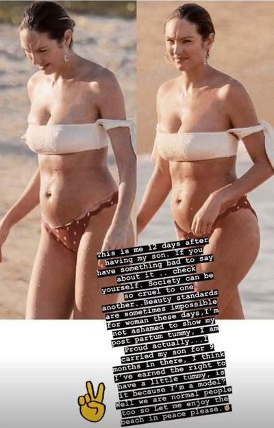 Victoria's Secret angel, Candice Swanepoel, July, 2018