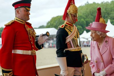 Queen attended Royal Windsor Horse Show