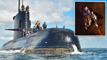 Searchers have located missing submarine ARA San Juan deep in the Atlantic a year after it disappeared with 44 crewmen aboard.