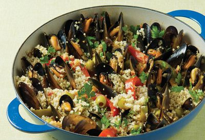 Rena Patten's Spanish-style mussels