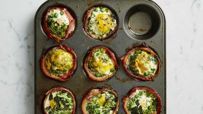"<a href=""http://kitchen.nine.com.au/2017/01/31/13/10/green-bacon-and-egg-cupcakes"" target=""_top"">Green bacon and egg cupcakes</a> recipe"