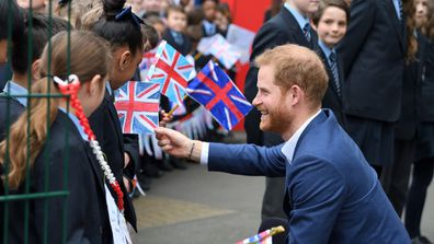 Duke of Sussex arrives to take part in a tree planting project in support of The Queens Commonwealth Canopy (QCC) initiative.