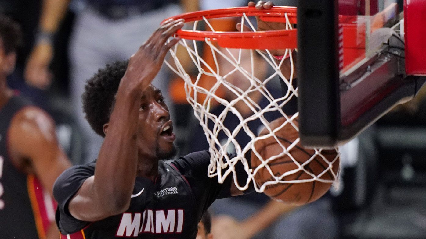 Miami Heat ride incredible Bam Adebayo performance into NBA Finals over Boston
