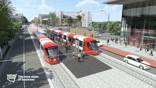 The vehicles will carry 450 passengers. (9NEWS)