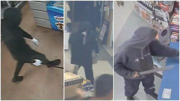 Police hunt machete-wielding duo behind 20 robberies