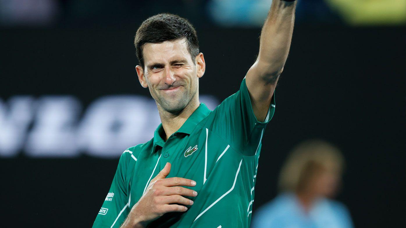 Novak Djokovic nails round one clash in Australian Open defence