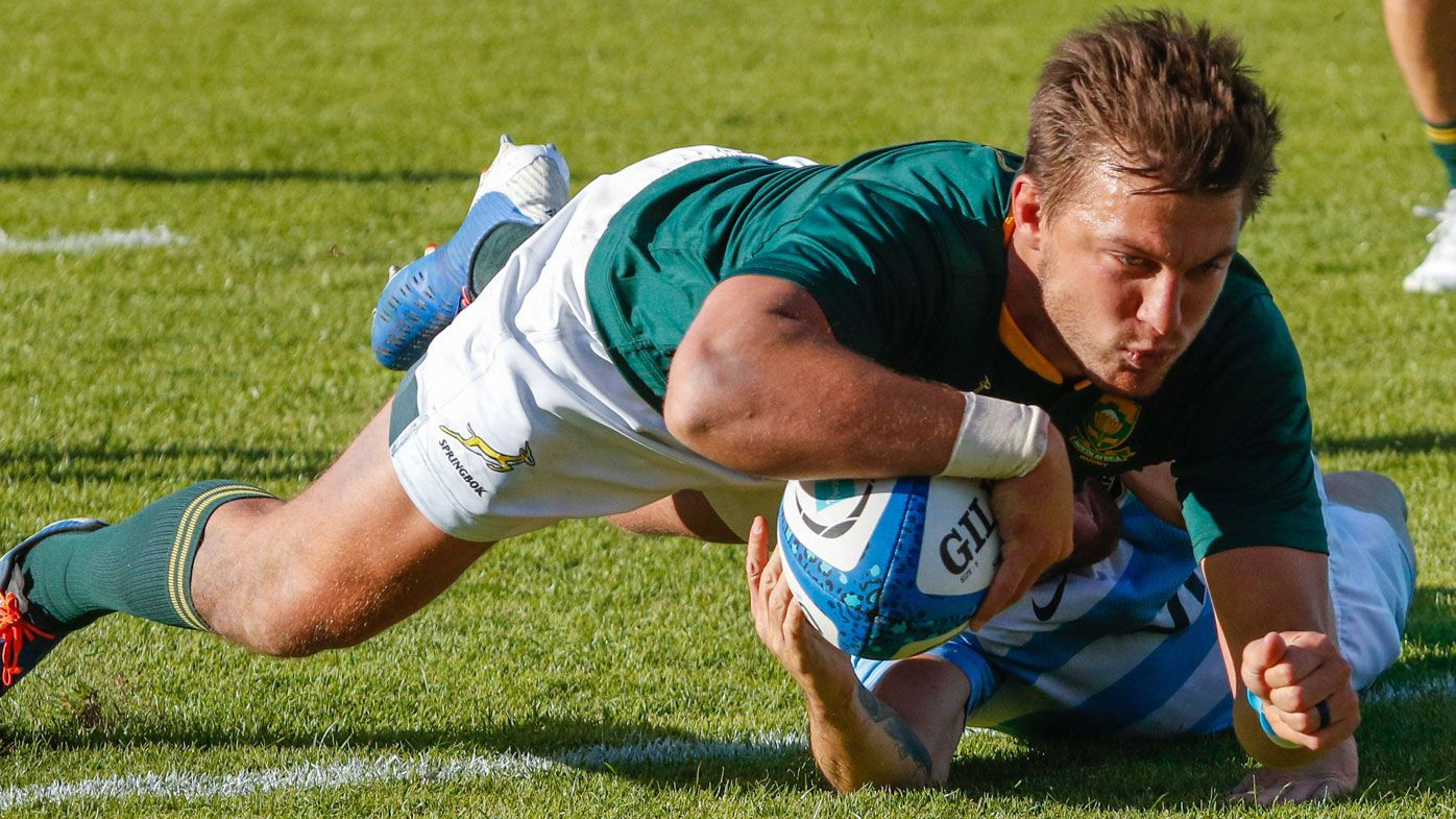 South Africa win rugby championship as Handre Pollard stars in win over Argentina