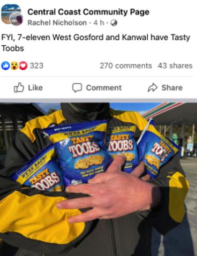 Tasty Toobs