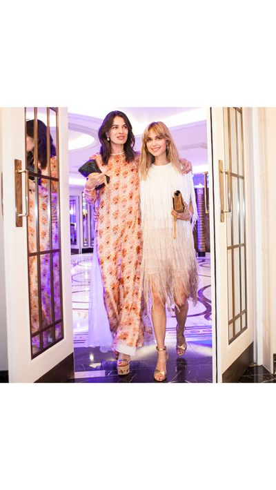 "<p>If you were paying attention to Instagram this weekend, you would've noticed model Arizona Muse, Stylebop creative director Leila Yavari, and bloggers Pernille Teisbaek, Elena Perminova and Eleonora Carisi embarking on a road trip with a difference. The stylish group hit the road to drive from London to Cannes for Cash & Rocket, an organisation that partners with luxury brands and charities to raise funds and awareness for a variety of causes. (You can donate to your favourite team <a href=""http://www.cashandrocket.com/"" target=""_blank"">here</a>.) </p><p>Valentino is also donating 30% of the proceeds from their limited edition <a href=""http://www.stylebop.com/women/newsletter/1270-valentino-x-cash-and-rocket-capsule-collection/"" target=""_blank"">capsule collection</a> on Stylebop to the charity. Click through for all the snaps...</p>"