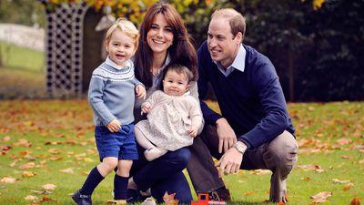 Prince George and Princess Charlotte, Amner Hall, December 2015