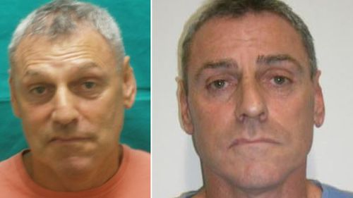 John Wallace Lindrea, 54, is wanted by police after breaking parole. (Victoria Police)