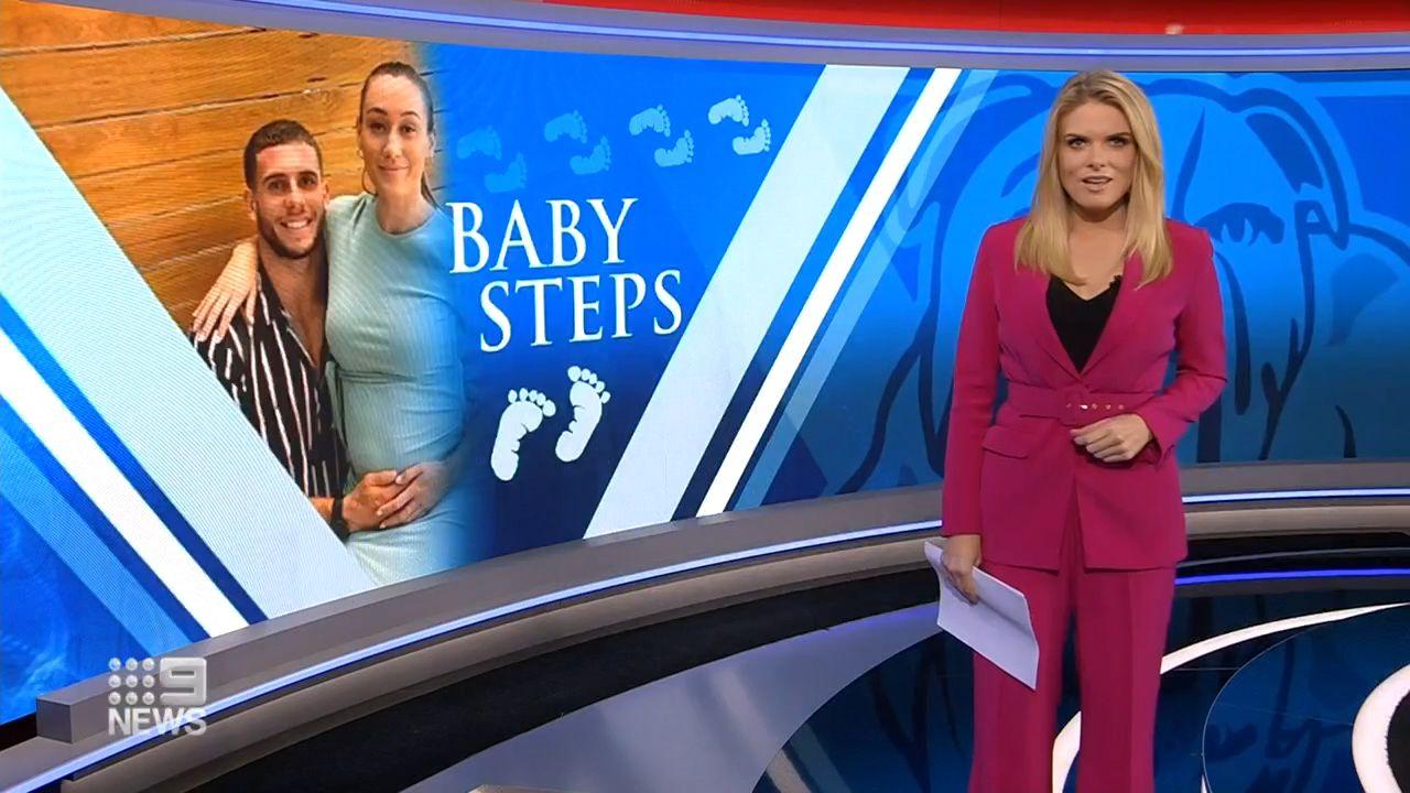Bulldogs star Adam Elliott's incredible sacrifice for pregnant partner amid coronavirus chaos