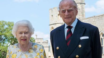 Queen Elizabeth Prince Philip birthday portrait June 2020