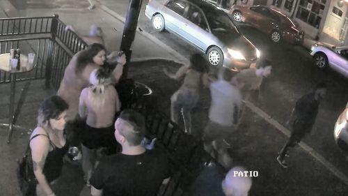 Patrons of this Dayton bar fled the moment gunshots were heard.