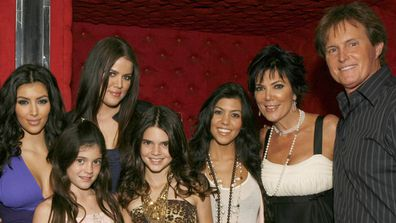 Keeping Up With The Kardashians. cast, then and now, gallery