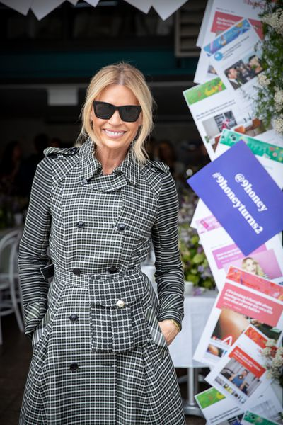 Sonia Kruger at the '9Honey Turns Two' celebration held in Sydney, October 12, 2018.