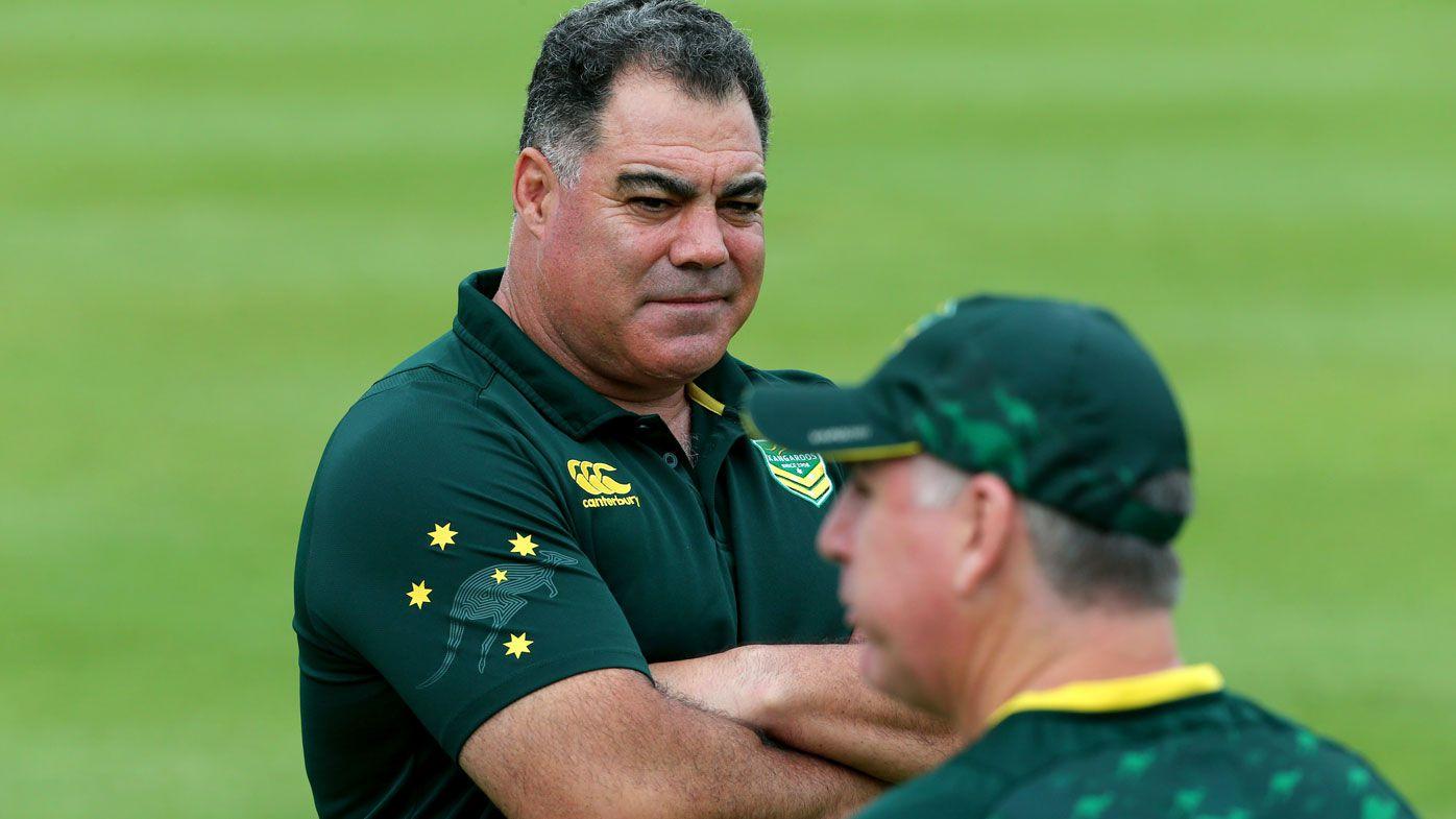 Kangaroos coach Mal Meninga.