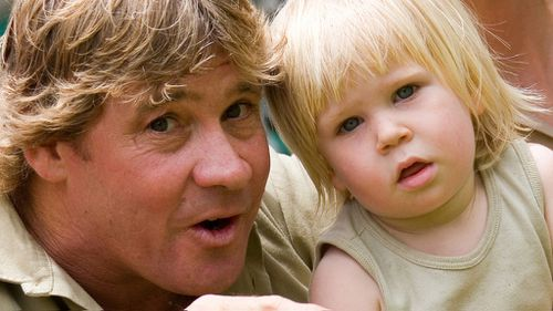 Robert 'Bob' Irwin was not yet three years old when his father died.