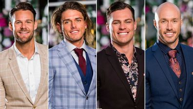 The Bachelorette final four are Carlin, Timm, Jackson and Ryan.