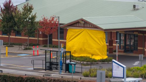 The North West Regional Hospital is seen closed in Burnie