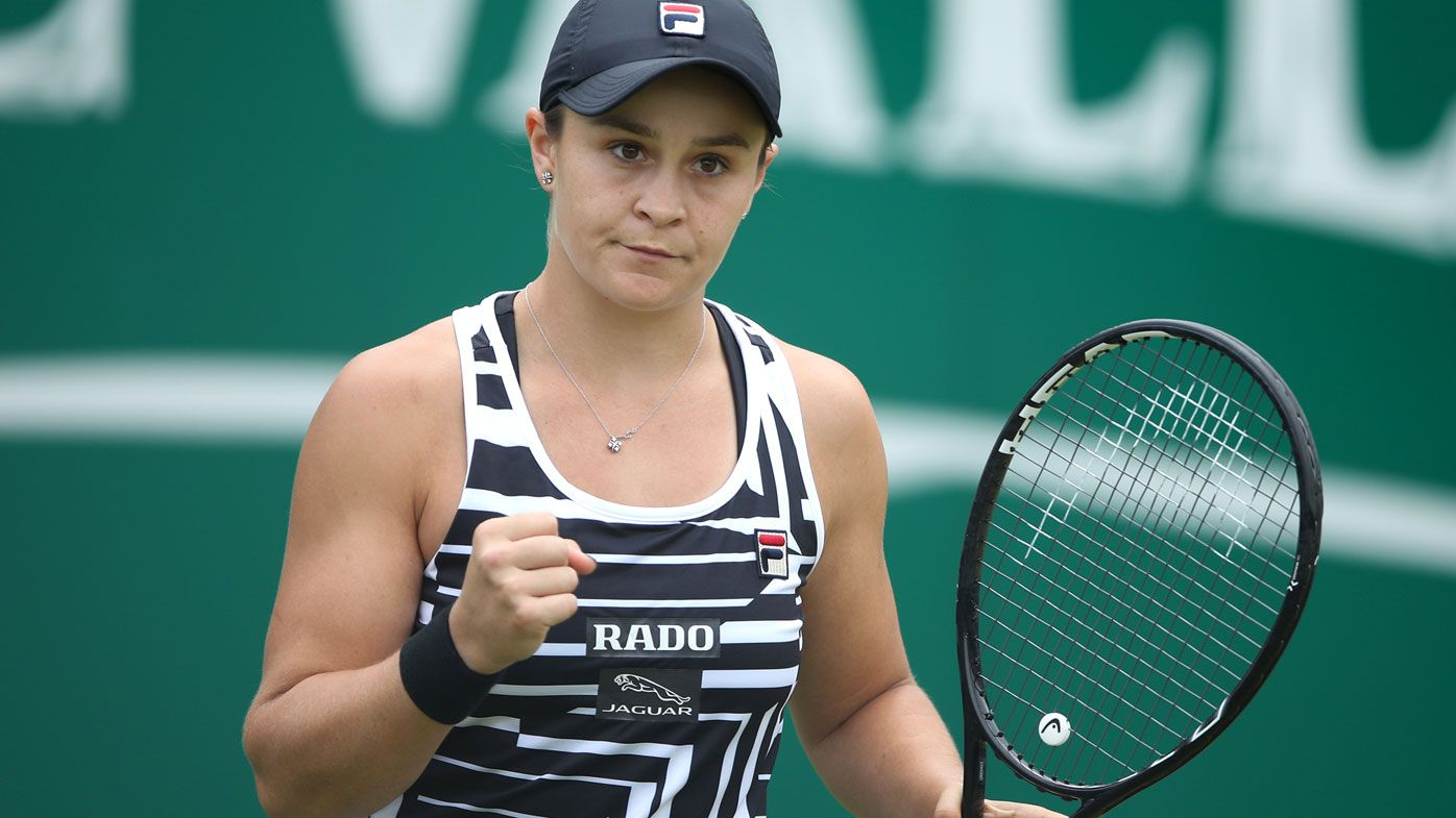 Coach backs Ashleigh Barty for long stay at No.1 ahead of Wimbledon campaign