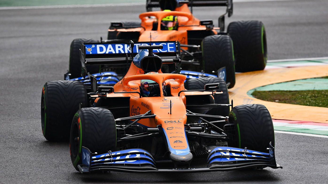 Daniel Ricciardo forced to 'swallow pride' running behind McLaren teammate at Imola