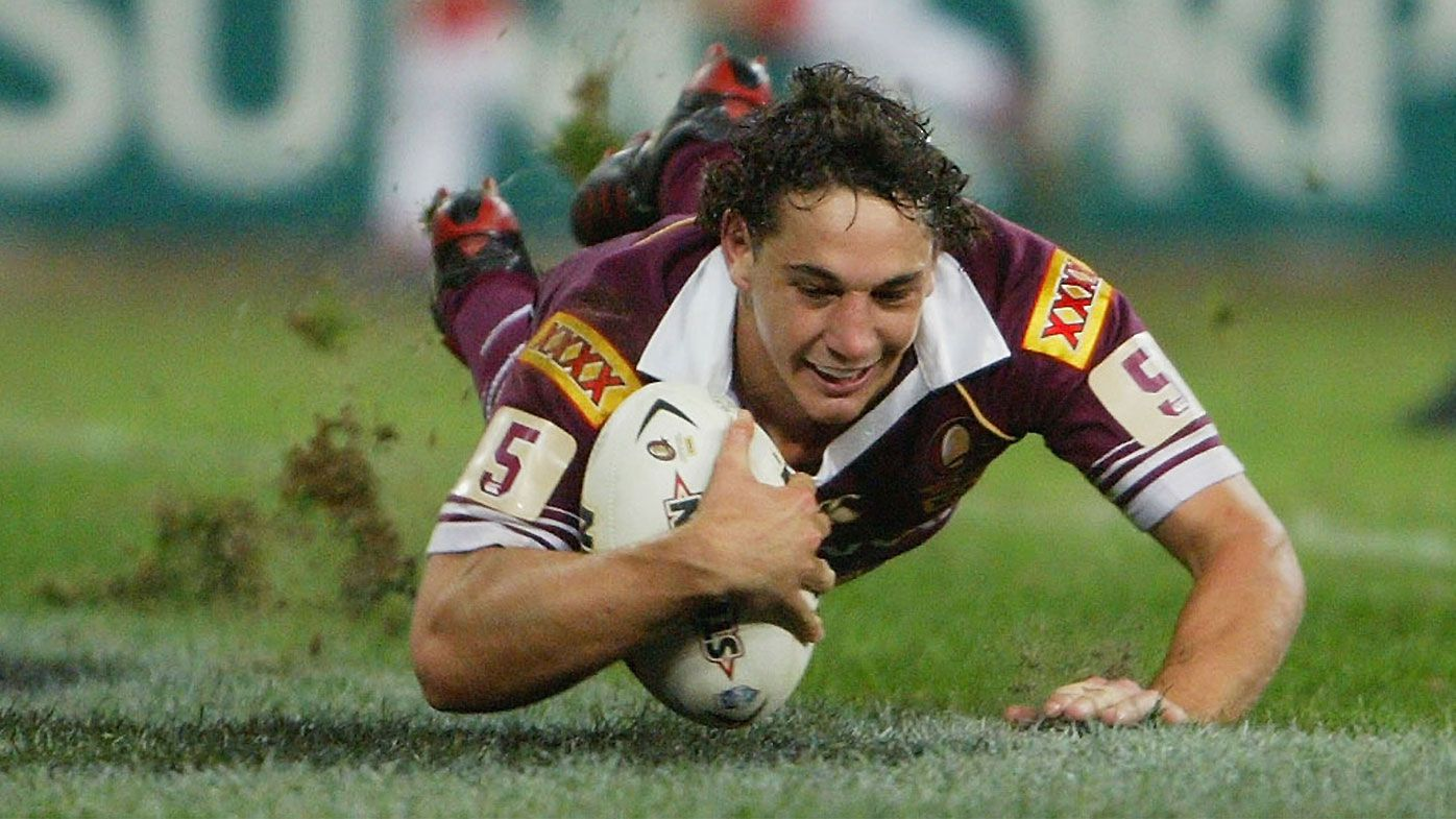 EXCLUSIVE: How Billy Slater's famous Origin try changed his life