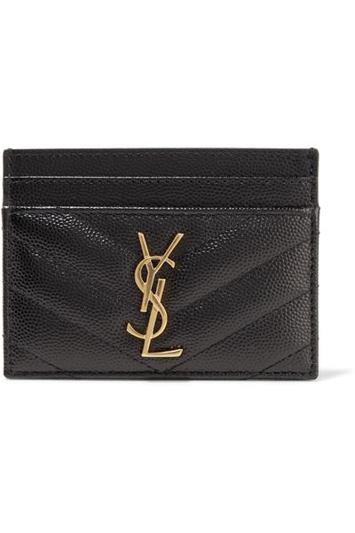 Saint Laurent card holder, $380