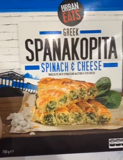 Aldi Spanakopita Spinach and Cheese