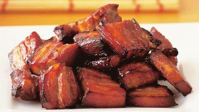 "Recipe:&nbsp;<a href=""http://kitchen.nine.com.au/2016/05/17/20/25/roasted-char-siu-pork-spare-ribs"" target=""_top"">Roasted char siu pork spare ribs</a>"