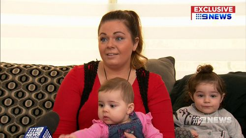 Mrs Cramp was left in shock after being exposed by a security guard. Picture: 9NEWS