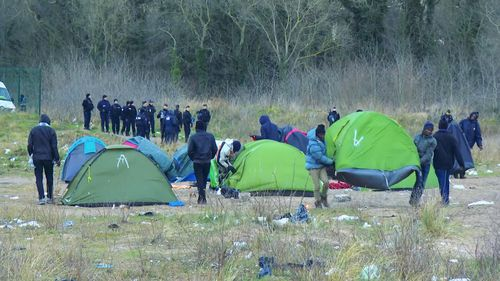 The latest crackdown by authorities is due to the surge of migrants taking extreme and risky measures to get into the UK.