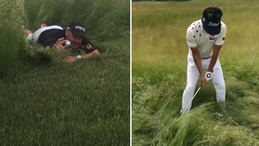 Players are fuming over the length of the rough at the US Open.