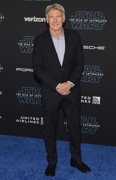 Harrison Ford, Star Wars: The Rise Of Skywalker, world premiere, red carpet