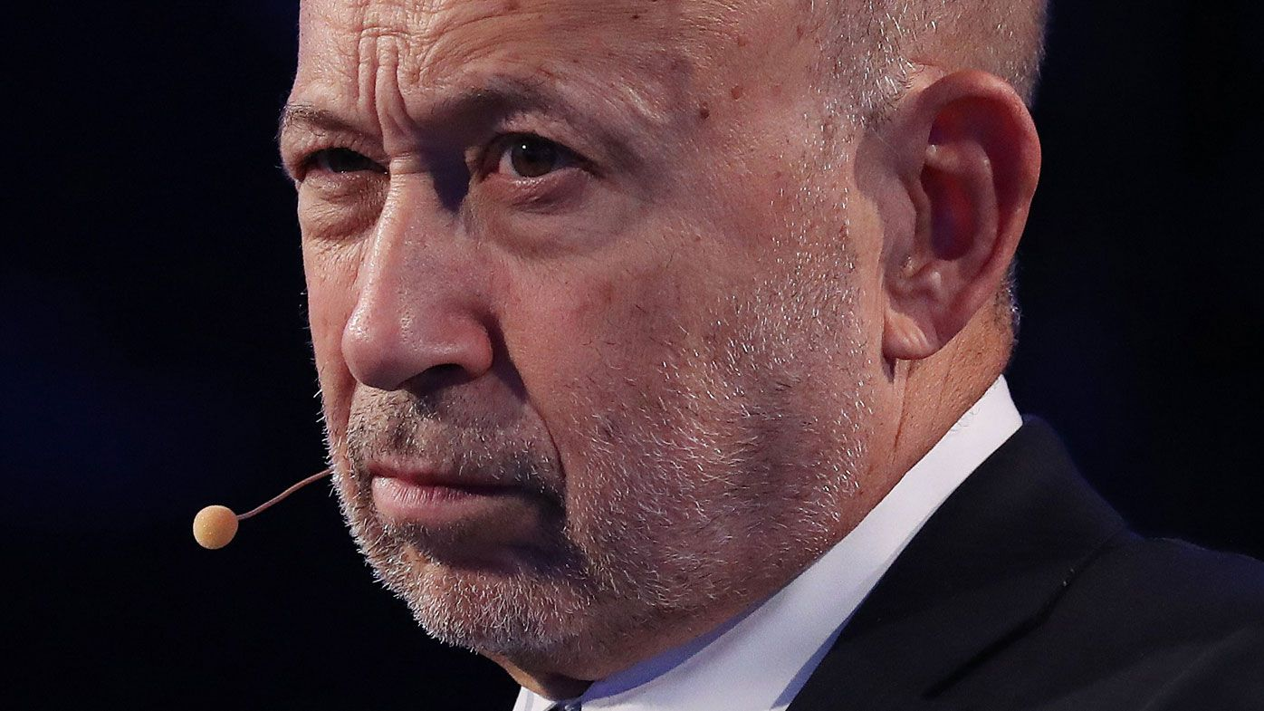 Goldman Sachs CEO Lloyd Blankfein hints banking giant could send more jobs from London to Frankfurt (EPA/ANDREW GOMBERT).
