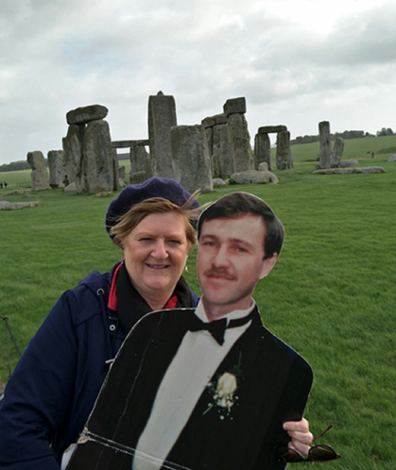 Michelle and Paul at Stonehenge.