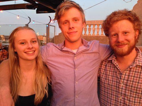 Brett McLeod's three children Olivia, Alexander and Jackson.