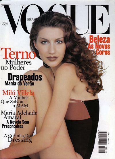 Vogue Brazil October 1997 by Kenneth Willardt