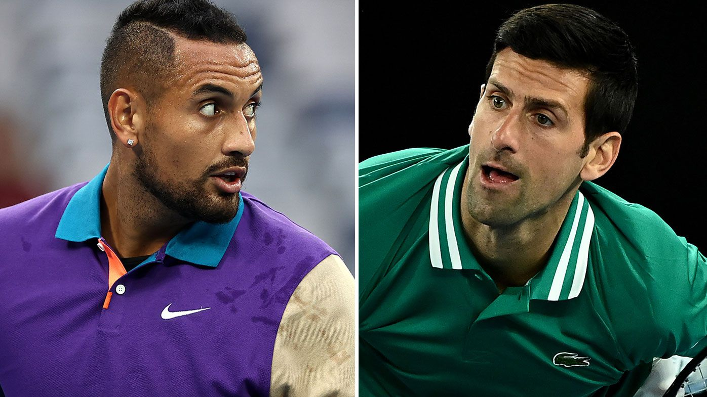 'As bad as it gets for me': Nick Kyrgios' ice-cold takedown for Novak Djokovic