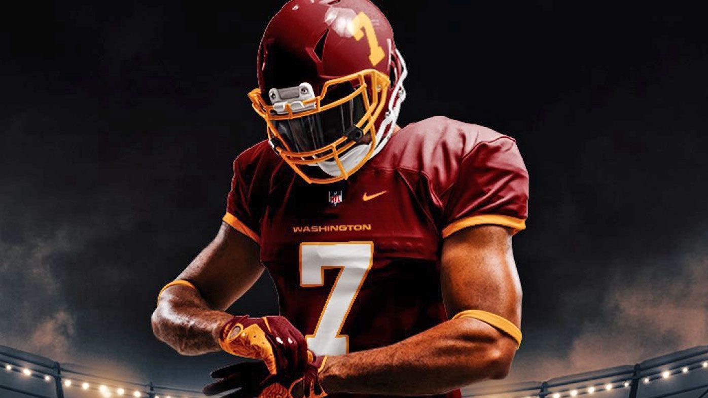 The Washington Football Team reveal their 2020 uniforms