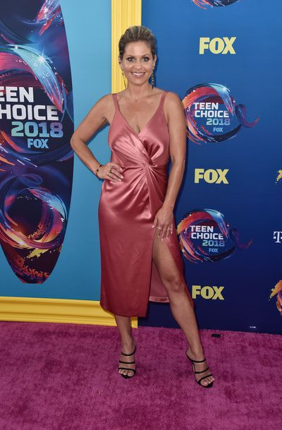 Actress and <em>Full House</em> star Candace Cameron Bure at FOX's Teen Choice Awards in California, August, 2018&nbsp;